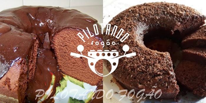 Bolo de Chocolate Fácil de Liquidificador