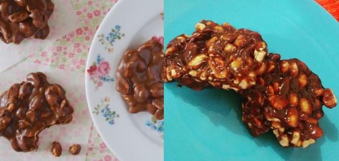 Pé De Moleque De Chocolate