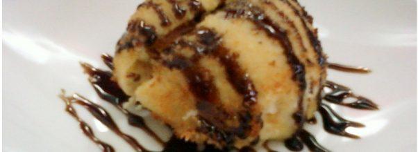 Sorvete Frito Caseiro