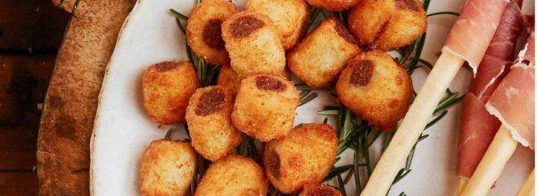 Nhoque Frito Recheado
