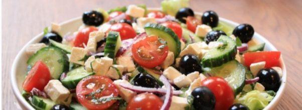 Como Fazer Uma Salada Grega