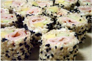 Sushi De Pão Recheado
