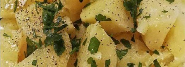 Salada De Batatas Para Churrasco