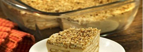 Torta Paulista Ou Torta De Amendoim