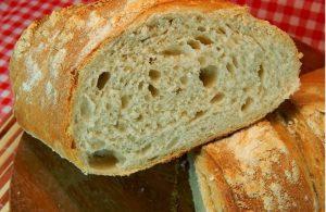 Pão Crocante Com Fermento Caseiro