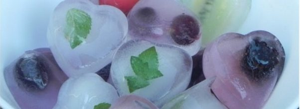 Pedrinhas de Gelo Aromatizadas