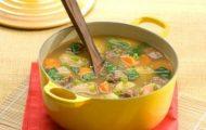 Sopa Completa De Mandioca