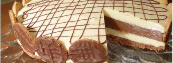 Torta Dueto de Chocolate Fácil