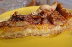 Torta de Banana Feita Com Massa de Farofa