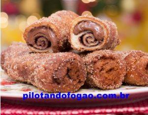 Rabanada de Nutella