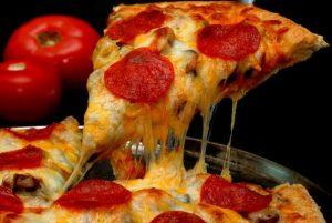 Pizza de Liquidificador Com Cream Cheese