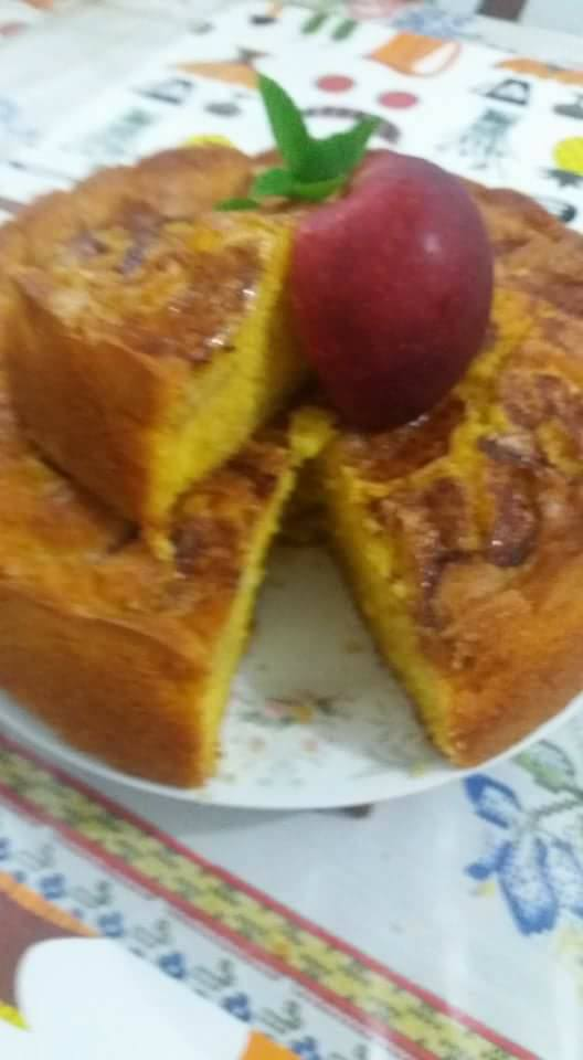 Torta Suíça De Maçãs