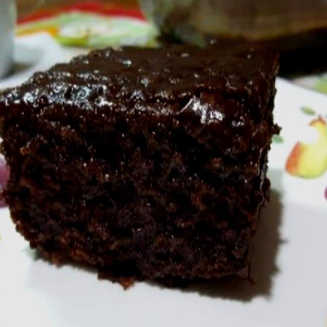 Bolo De Chocolate Sem Ovo