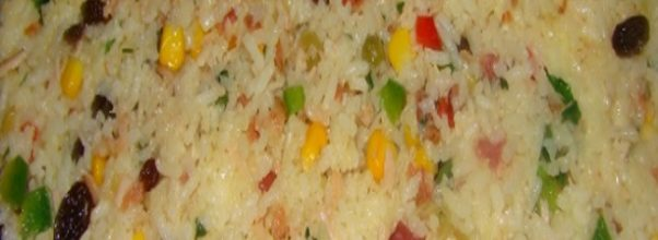 Arroz Temperado Com Bacon