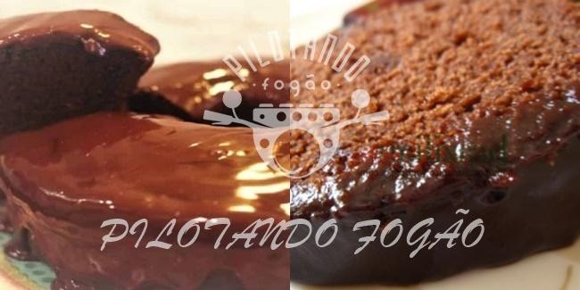 Bolo De Chocolate Para Diabéticos