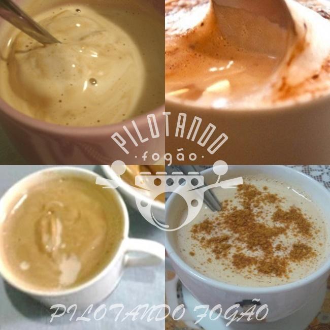 Café Cremoso Com Leite Ninho
