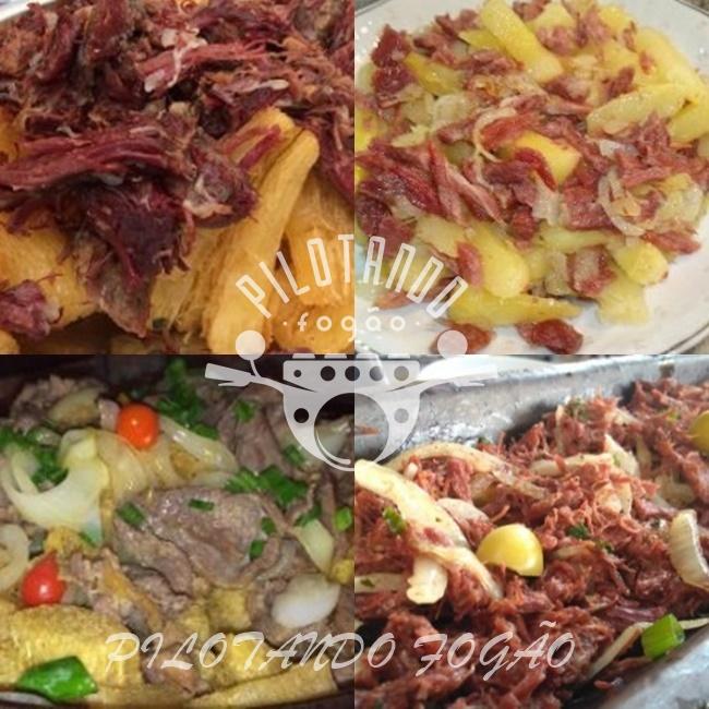 Carne Seca Com Mandioca