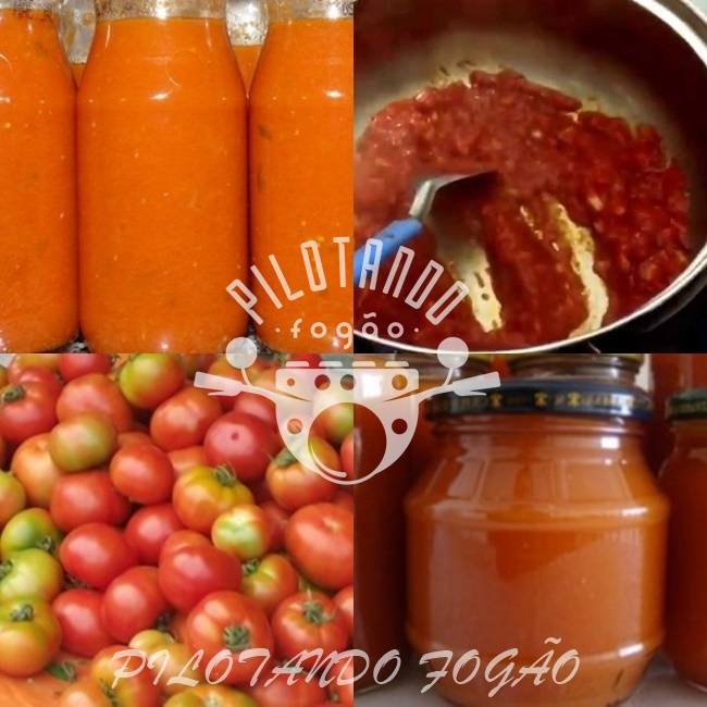 Como Fazer Extrato De Tomate Natural