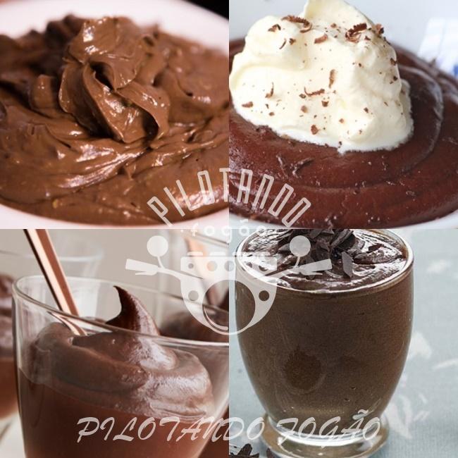 Mousse De Chocolate Em Pó