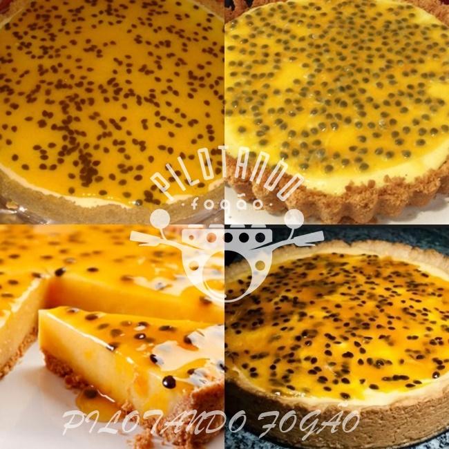 Torta De Maracujá