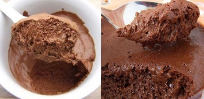 Mousse Fit De Chocolate 2 Ingredientes