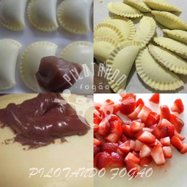 Pastel De Leite Ninho Com Nutella E Morango