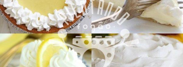Receita De Torta De Limão Simples