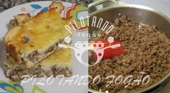 Torta De Carne Moída Fofinha