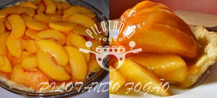 Torta De Pêssego Simples