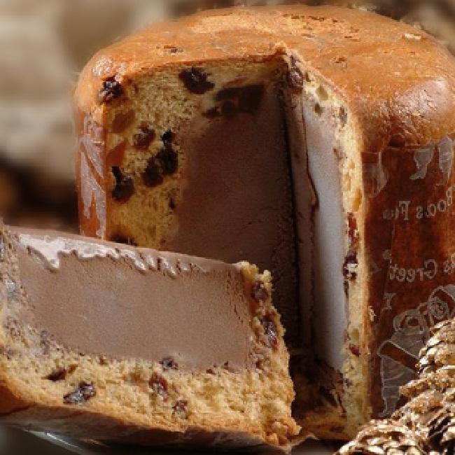 Chocotone Trufado De Sorvete