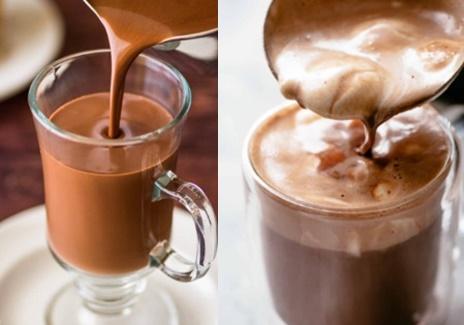 Chocolate Quente Com Leite Condensado