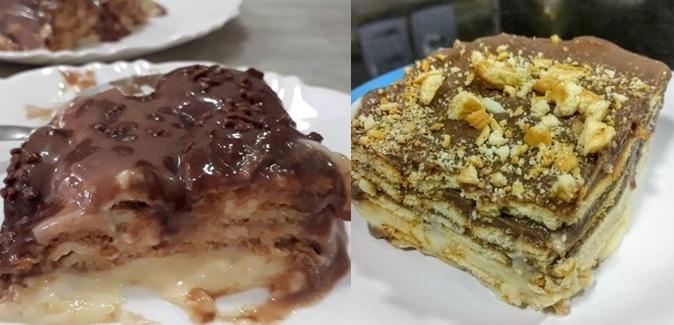 Pavê De Biscoito De Maizena